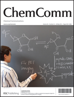Journal Cover:Chem. Commun., 2012, 48, 5322-5324