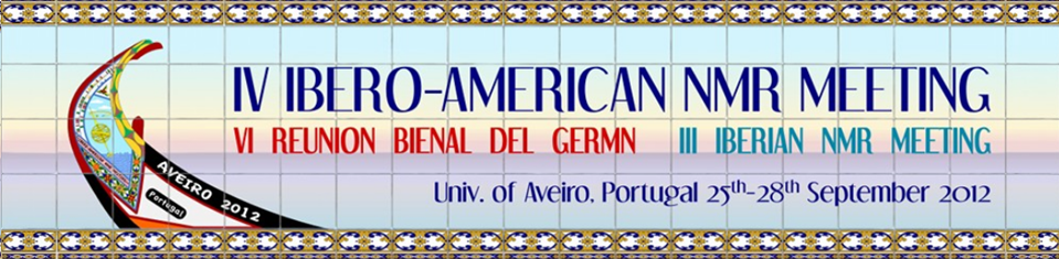 Presentations to the Ibero-American NMR & GERMN Bienal & Iberian NMR joint meeting