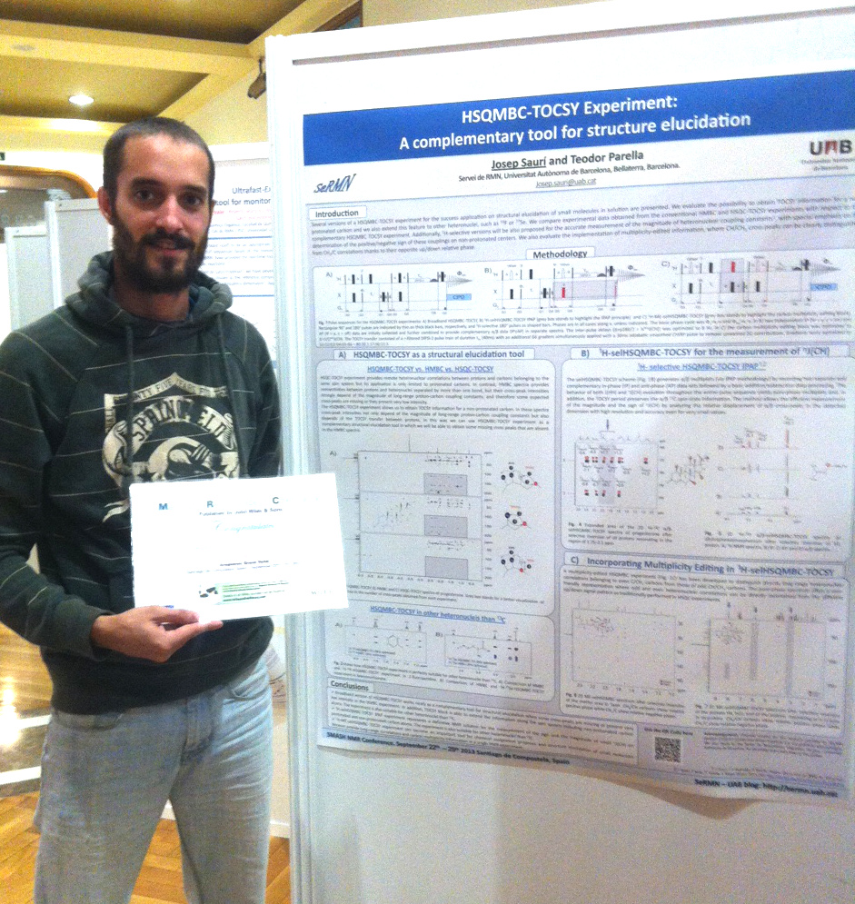 Josep Saurí wins Best Poster Award at SMASH 2013