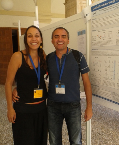 Laura Castañar and Dr. Teodor Parella