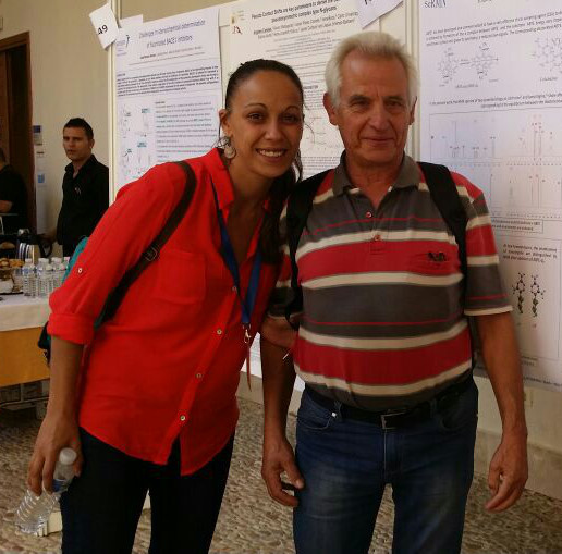 Laura Castañar and Dr. Albert Virgili
