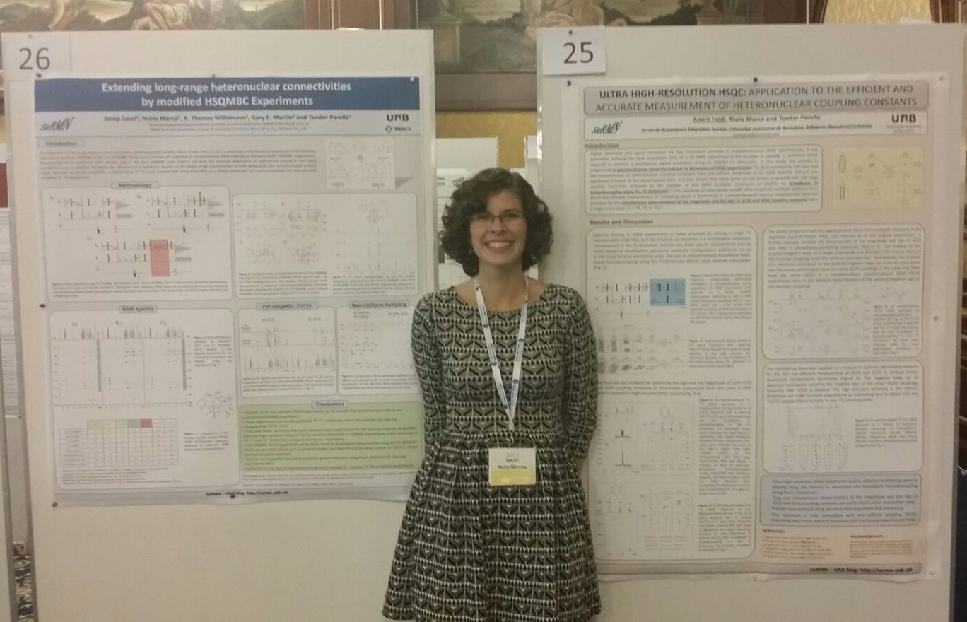 SeRMN at the SMASH NMR 2015 Conference